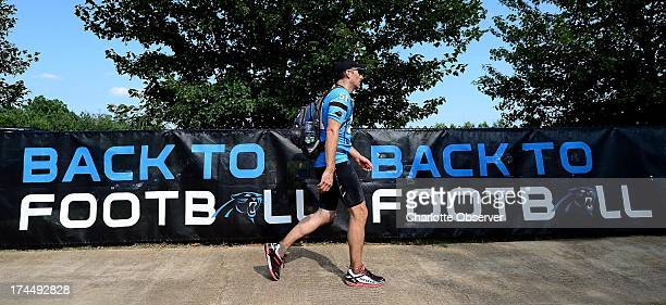 For the fourth consecutive year, Carolina Panthers facilities manager Matthew Getz has made the walk from Charlotte, North Carolina to Spartanburg,...