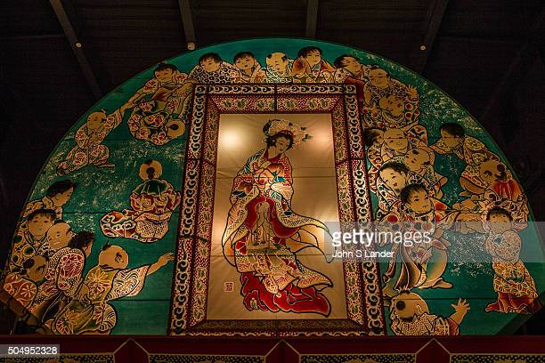 For the Hirosaki Nebuta Festival giant illuminated floats are made of bamboo or wood frames then covered with paper They are illustrated with...