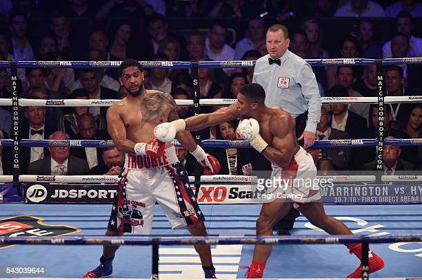 for the IBF World Heavyweight Title at The O2 Arena on June 25 2016 in London England