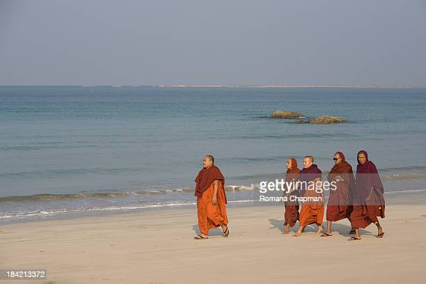 For the longest time these buddhist monks looked very tame until recent developments in Burma, when buddhist monks have led the revolt against...