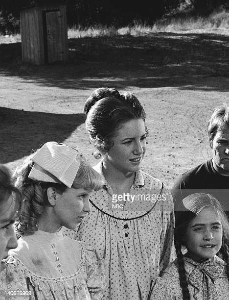 PRAIRIE For the Love of Nancy Episode 9 Aired 11/30/81 Pictured Allison Balson as Nancy Oleson Melissa Gilbert as Laura Elizabeth Ingalls Missy...