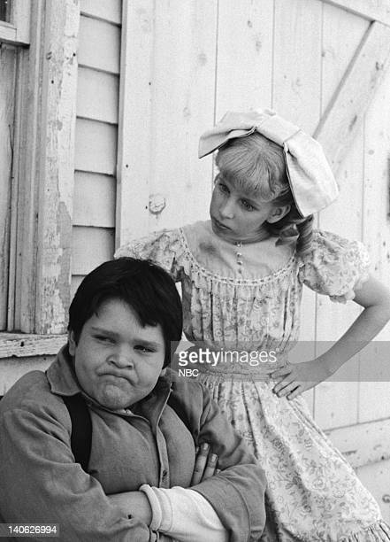 PRAIRIE 'For the Love of Nancy' Episode 9 Aired 11/30/81 Pictured J Brennan Smith as Elmer Miles Allison Balson as Nancy Oleson Photo by Ted...