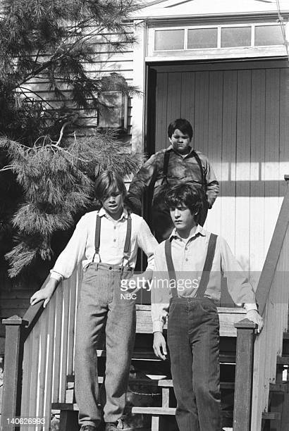 "For the Love of Nancy"" Episode 9 -- Aired 11/30/81 -- Pictured: Unknown, J. Brennan Smith as Elmer Miles, Matthew Laborteaux as Albert Quinn Ingalls..."
