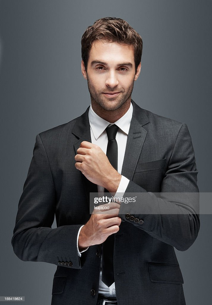 For the man who has it all : Stock Photo