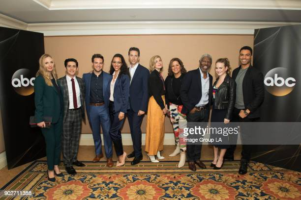 TOUR 2018 'For the People' Session The cast and executive producers of 'For the People' addressed the press at Disney | ABC Television Group's Winter...