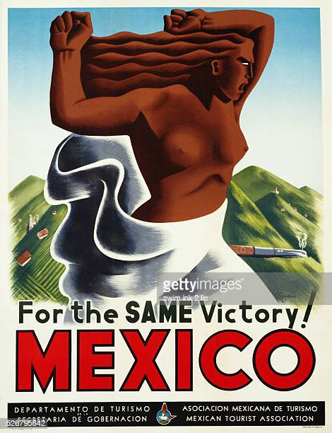 For the Same Victory Mexico Tourism Advertisement Poster by Eppem