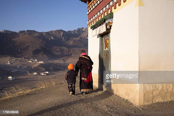 CONTENT] For the tibetans in Tibet the daily prayer is a must especially the old man every day around the temple praying to kowtow typically 108 laps...