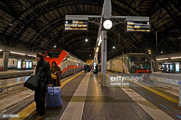For Trenitalia closes with over 42 million passengers while only in the period of the Christmas holidays were sold two million tickets only on...