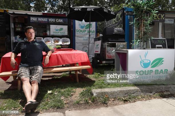 TORONTO ON JUNE 21 For weekly newbusiness profile Jagger Gordon is the chef and owner of Soup Bar by Feed it Forward The sandwich and soup bar is in...