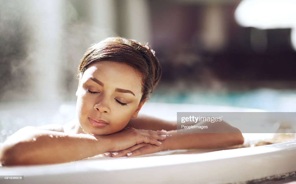For wellness just add water : Stock Photo