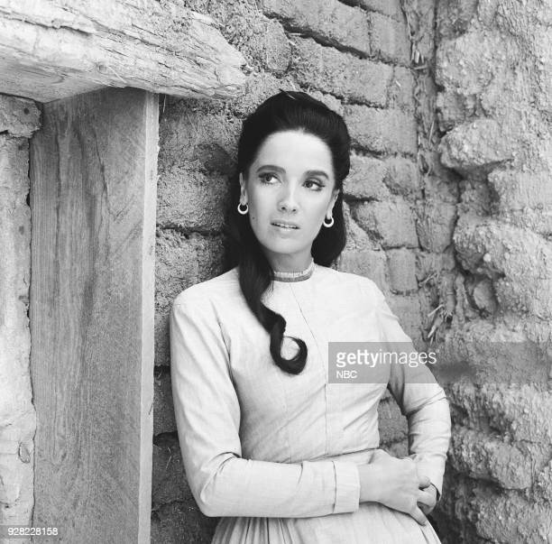 CHAPARRAL For What We Are About to Receive Episode 11 Pictured Linda Cristal as Victoria Montoya Cannon