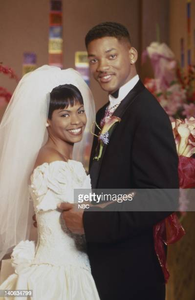 AIR 'For Whom The Wedding Bells Toll' Episode 25 Air Date Pictured Nia Long as Lisa Wilkes Will Smith as William 'Will' Smith Photo by Gary Null/NBCU...