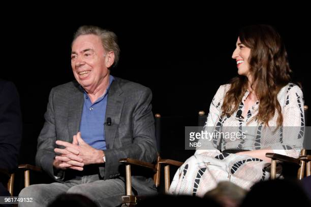 CONCERT 'For Your Consideration Event' Pictured Andrew Lloyd Webber Composer and Executive Producer Sara Bareilles at the Egyptian Theatre Hollywood...