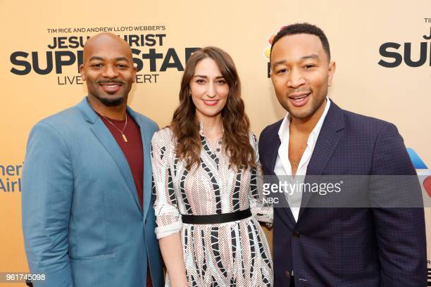 CONCERT 'For Your Consideration Event' Pictured Brandon Victor Dixon Sara Bareilles John Legend at the Egyptian Theatre Hollywood Calif on May 21 2018