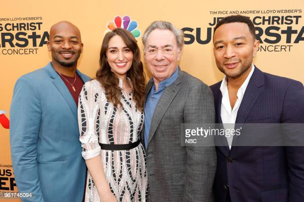 CONCERT 'For Your Consideration Event' Pictured Brandon Victor Dixon Sara Bareilles Andrew Lloyd Webber John Legend at the Egyptian Theatre Hollywood...