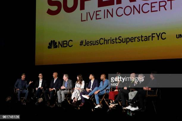 CONCERT 'For Your Consideration Event' Pictured Derek Hough Moderator Jason ArdizzoneWest Production Manager Harvey Mason Jr Music Producer Andrew...
