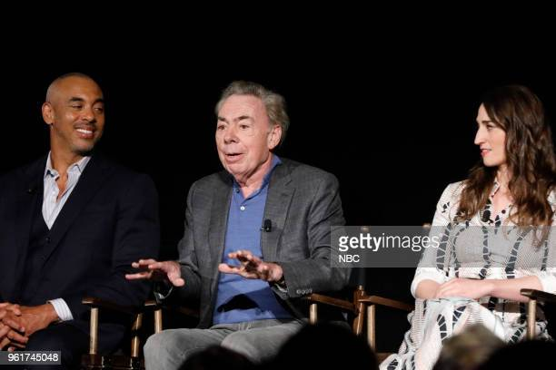CONCERT 'For Your Consideration Event' Pictured Harvey Mason Jr Music Producer Andrew Lloyd Webber Composer and Executive Producer Sara Bareilles at...