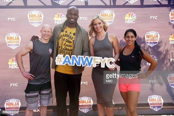 WARRIOR 'For Your Consideration Event' Pictured Kevin Bull Akbar Gbajabiamila Kristine Leahy Tiana Webberley