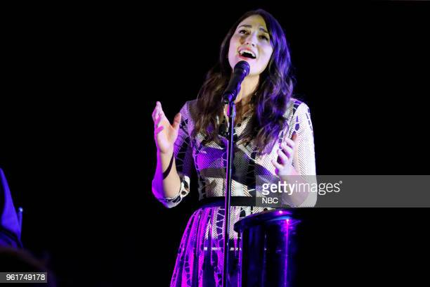 CONCERT 'For Your Consideration Event' Pictured Sara Bareilles at the Egyptian Theatre Hollywood Calif on May 21 2018