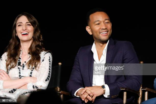 CONCERT 'For Your Consideration Event' Pictured Sara Bareilles John Legend at the Egyptian Theatre Hollywood Calif on May 21 2018
