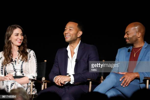 CONCERT 'For Your Consideration Event' Pictured Sara Bareilles John Legend Brandon Victor Dixon at the Egyptian Theatre Hollywood Calif on May 21 2018