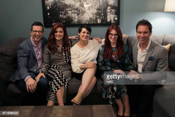 WILL GRACE For Your Consideration Panel Pictured Sean Hayes Debra Messing Stacey Wilson Hunt Megan Mullally Eric McCormack at Harmony Gold Preview...
