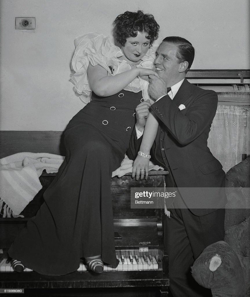 Helen Kane with Husband Max Hoffman Jr.