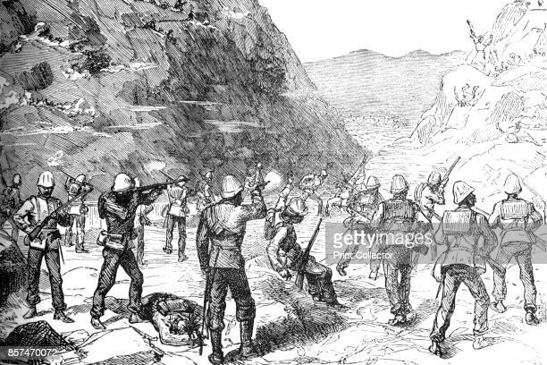 Foraging Party of the 67th Attacked by the Afghans ' circa 1880 Episode of the Second AngloAfghan War from 1878 to 1880 From British Battles on Land...