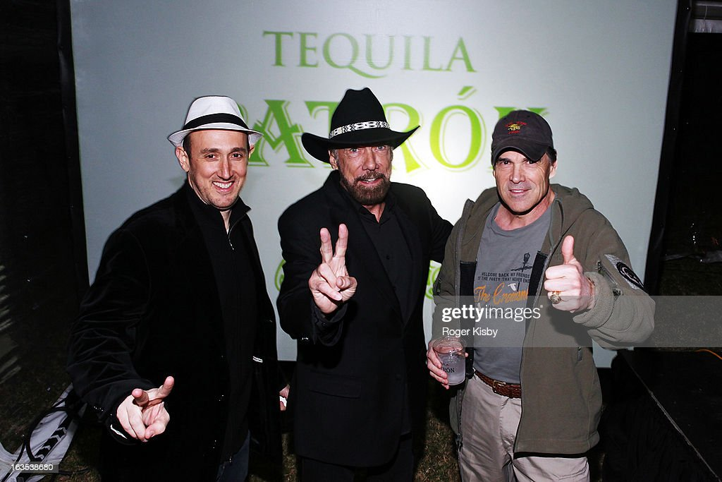Forbes Editor Randall Lane, John Paul DeJoria and Texas Governor Rick Perry attend Forbes' '30 Under 30' SXSW Private Party on March 11, 2013 in Austin, Texas.
