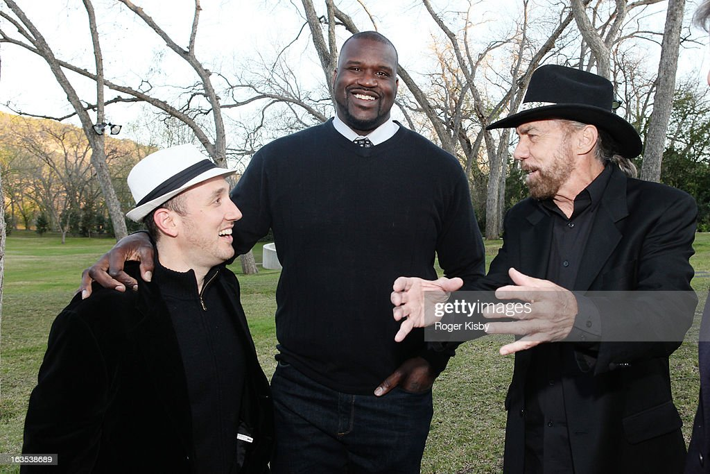 Forbes Editor Randall Lane, Shaquille O'Neal and John Paul DeJoria attend Forbes' '30 Under 30' SXSW Private Party on March 11, 2013 in Austin, Texas.