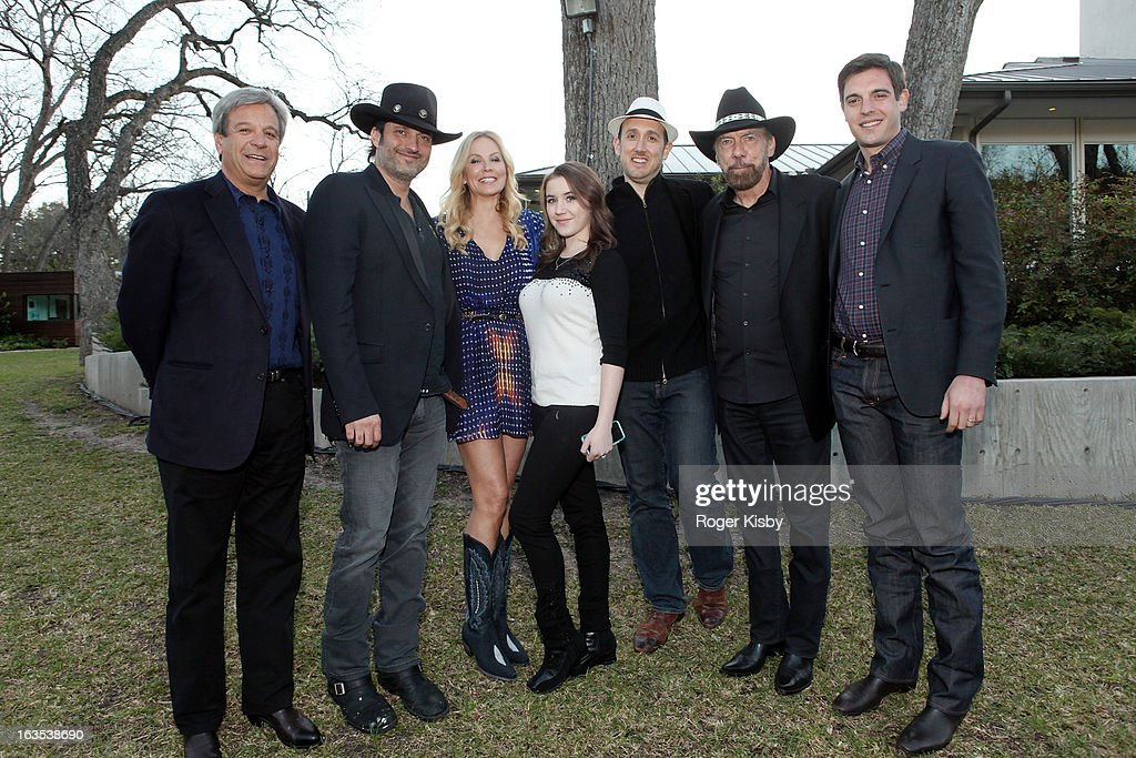 Forbes Media CEO Mike Perlis, Robert Rodriguez, Eloise DeJoria, Marci Madison, Forbes Editor Randall Lane, John Paul DeJoria, and Forbes' Steve Bertoni attend Forbes' '30 Under 30' SXSW Private Party on March 11, 2013 in Austin, Texas.