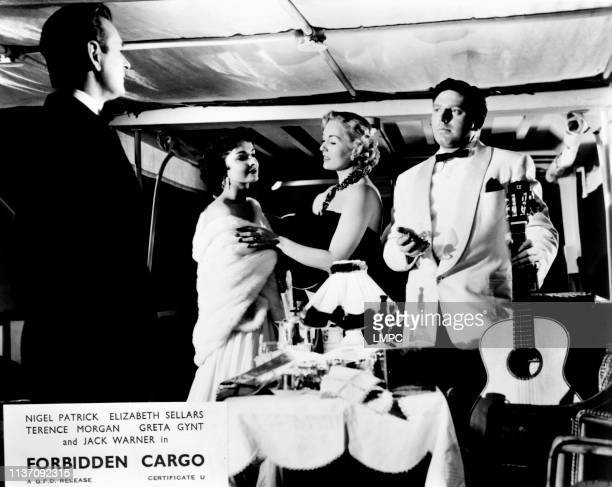 Nigel Patrick Elizabeth Sellars Greta Gynt Theodore Bikel 1954