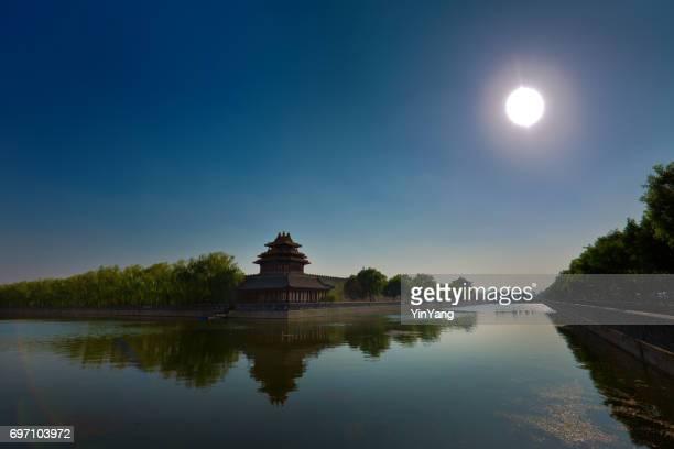 堀、中国、北京、紫禁城