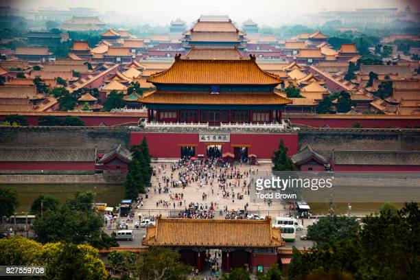 Forbidden City from Elevated view