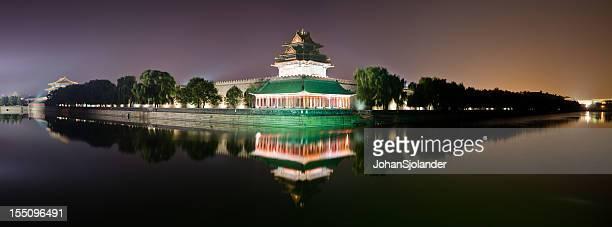 Forbidden City Night Panorama