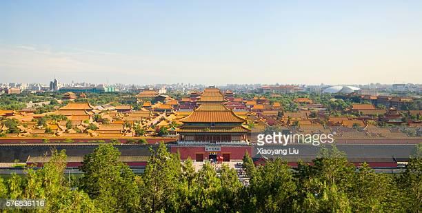 Forbidden City Seen from Jingshan Park