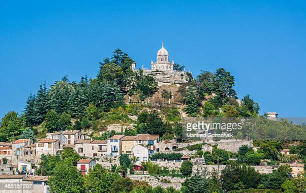 forcalquier concathedrale notre-dame - hauts de france stock photos and pictures