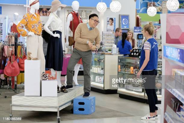 SUPERSTORE Forced Hire Episode 503 Pictured Nico Santos as Mateo Heidi Gardner as Colleen