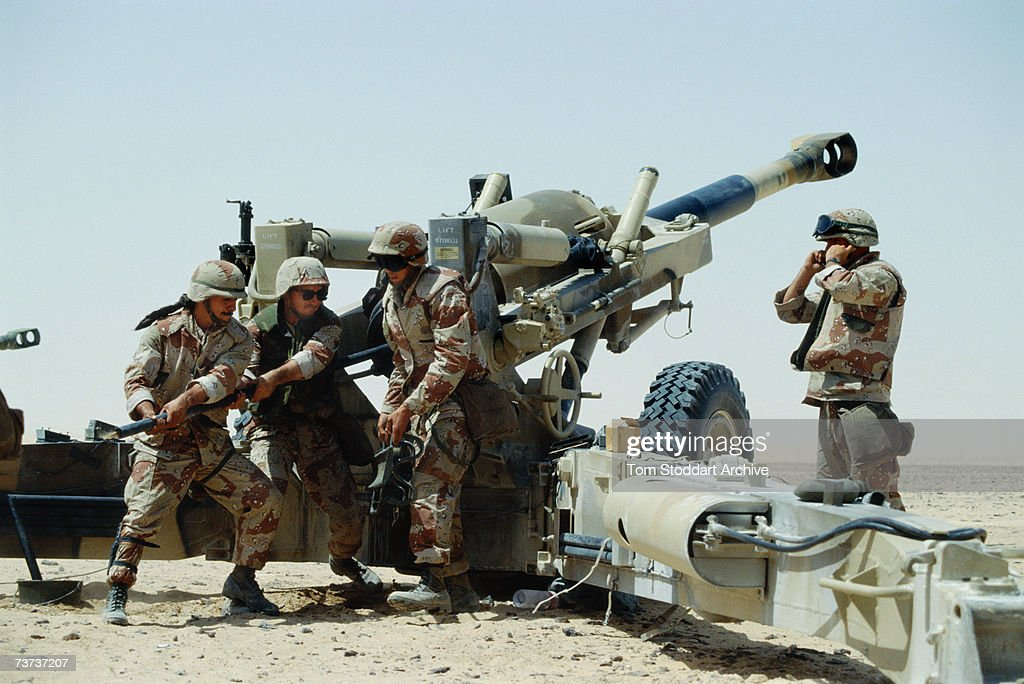 Persian Gulf War : News Photo