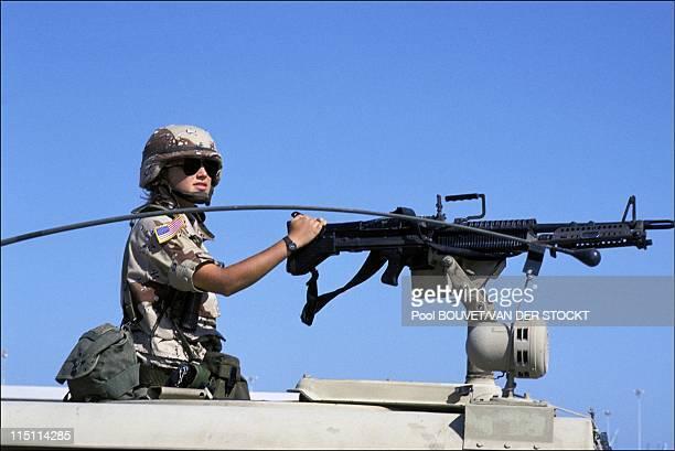 US forces in Dhahran Saudi Arabia on September 08 1990