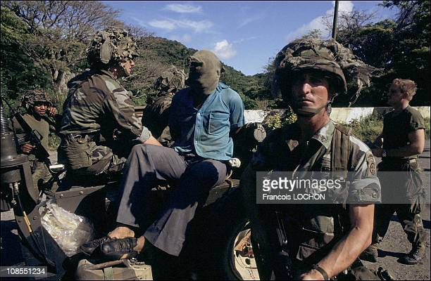US forces invade Grenada when conflicts within the revolutionary government including the murder of Prime Minister Maurice Bishop created an...
