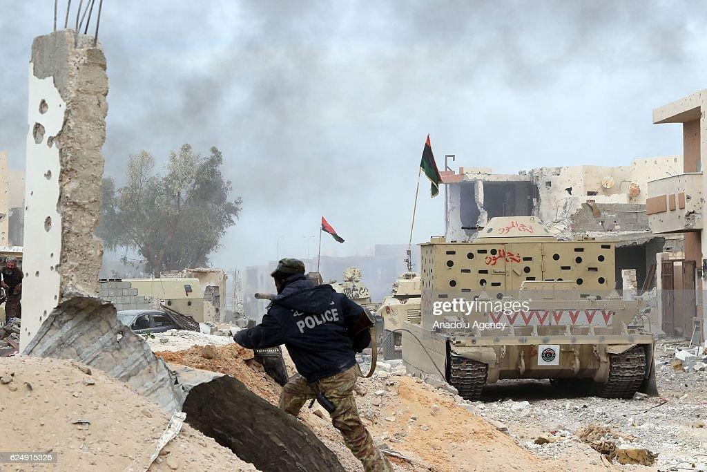 Operation ''Al Bunyan Al Marsous'' in Libya : News Photo