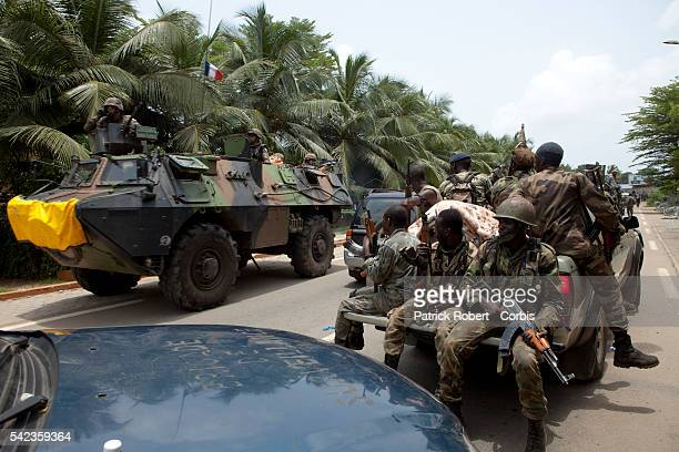 RCI Forces loyal to Alassane Ouattara try to push back the forces loyal to Laurent Gbagbo from the neighbourhoods of Riviera and Cocody They're...