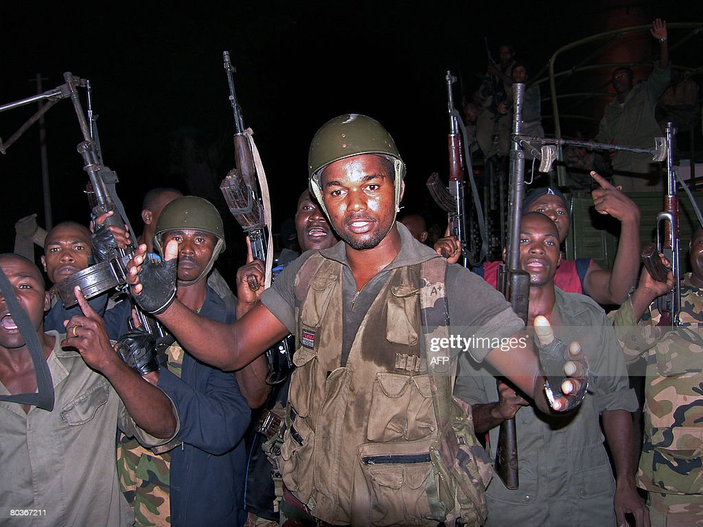 Forces loyal to Anjouan's leader Mohamed : News Photo