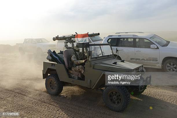 Forces under Joint Mosul Command begin first phase of Operation Conquest to retake Iraq's Mosul from the terrorist organization Daesh on March 24 2016