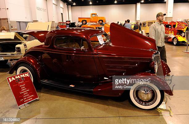 Ford 3window coupe hotrod on display at the 15th annual Rocky Mountain Rod and Custom Car Show at the Colorado Convention Center Friday afternoon The...