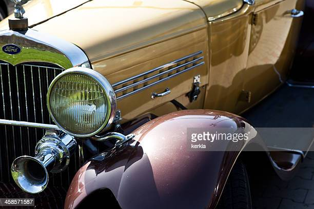 ford a 1929 fender details - 1920 1929 stock pictures, royalty-free photos & images