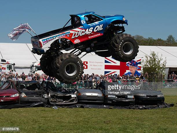 Ford Big Foot Monster Truck at Beaulieu Truckfest 2013 Artist Unknown
