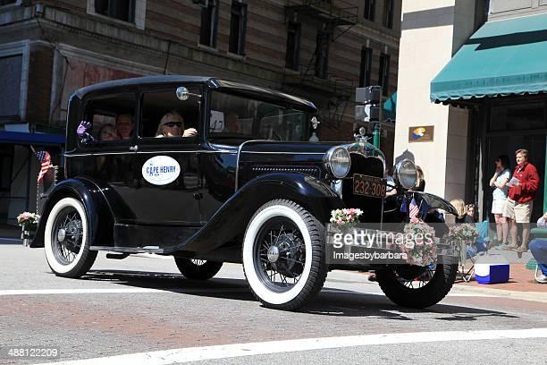 ford-parade - ford model t stock-fotos und bilder