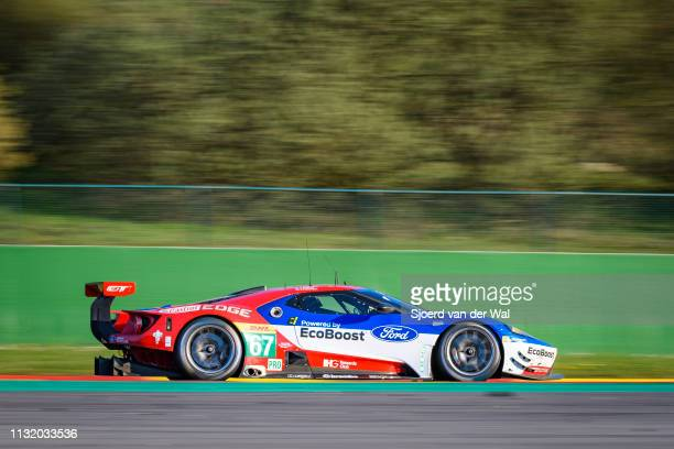 Ford Chip Ganassi Racing Ford GT race car driving on track during the 6 Hours of Spa-Francorchamps race, the second round of the 2016 FIA World...